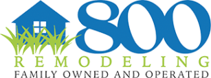 800 Remodeling company logo