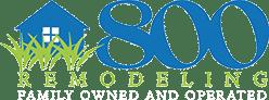 800 Remodeling Logo