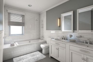 Stunning White Bathroom