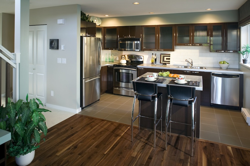 Kitchen Remodeling wooden style in Buena Park, CA