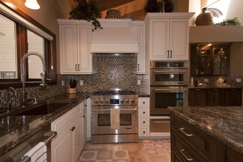 Kitchen Remodeling Project with amazing backsplash In Los Angeles, CA
