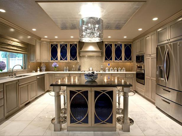 Amazing kitchen design with kitchen island for durability and space usage. Anaheim, CA